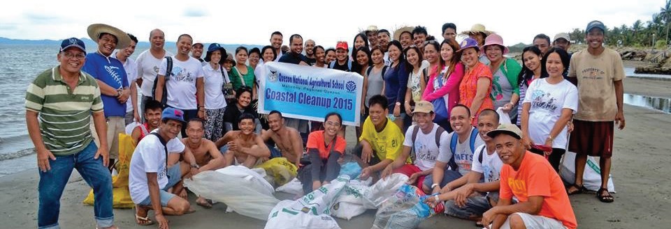 QNAS Conducts Coastal Clean-up
