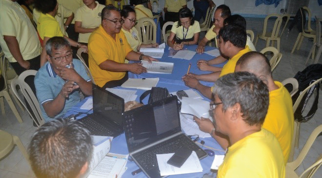 Region 4A Conducts Review and Enhancement of Instructional Materials for Basic Competencies at QNAS
