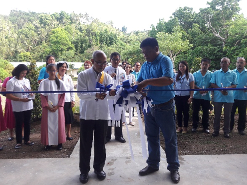 QNAS Holds Blessing and Ribbon Cutting of the New Gymnasium